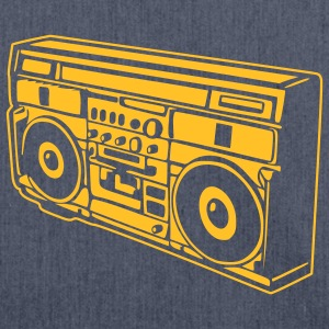 Radio T-Shirts - Schultertasche aus Recycling-Material