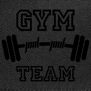 GYM TEAM | Fitness | Body Building | Hantel | Dumbbell T-Shirts - Snapback Cap