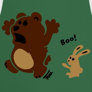 bear & bunny - colored T-Shirts - Cooking Apron