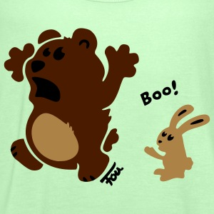 bear & bunny - colored T-Shirts - Women's Tank Top by Bella