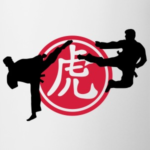 chinese_sign_tiger_karate_a_2c Tee shirts - Tasse