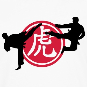 chinese_sign_tiger_karate_a_2c Tee shirts - T-shirt manches longues Premium Homme