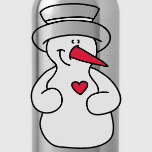 Snowman lover T-Shirts - Water Bottle
