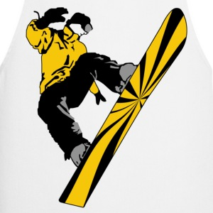 snow boarder 01 - Tablier de cuisine