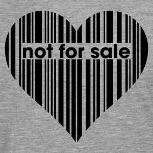 Not for Sale T-shirts - Herre premium T-shirt med lange ærmer