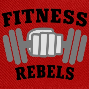 Fitness Rebels | Bodybuilding | Hantel | Training T-Shirts - Snapback Cap