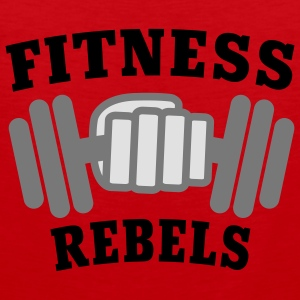 Fitness Rebels | Bodybuilding | Hantel | Training T-Shirts - Männer Premium Tank Top