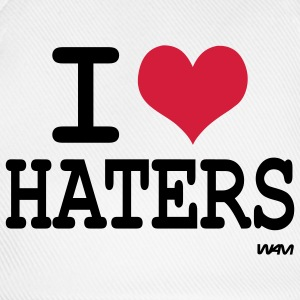 i love haters T-shirts - Baseballcap