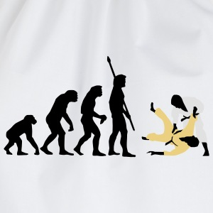 evolution_judo_a_3c T-Shirts - Drawstring Bag