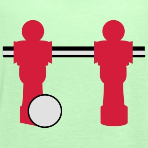 table football two players T-shirt - Top da donna della marca Bella