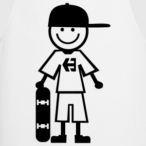 skateboard kid Camisetas - Delantal de cocina