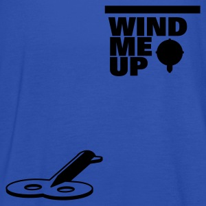 Man wind me up T-shirts - Vrouwen tank top van Bella
