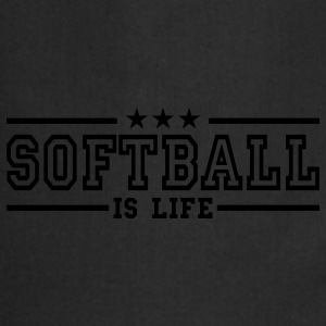 softball is life deluxe T-skjorter - Kokkeforkle