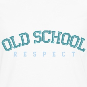 Old School Respect 02 T-shirts - Mannen Premium shirt met lange mouwen