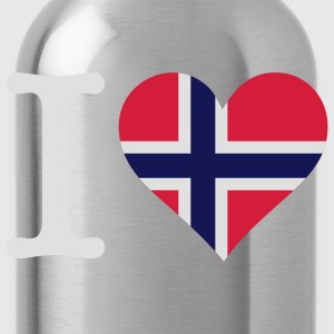 I Love Norway 1 (3c) T-Shirts - Water Bottle