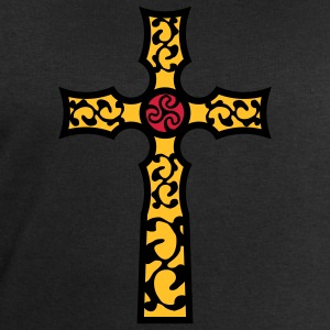tribal_cross_a_3c T-Shirts - Men's Sweatshirt by Stanley & Stella