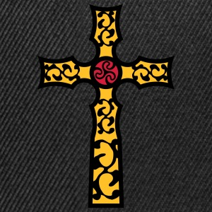 tribal_cross_a_3c Tee shirts - Casquette snapback