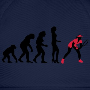 evolution_female_tennis_2c Camisetas - Gorra béisbol
