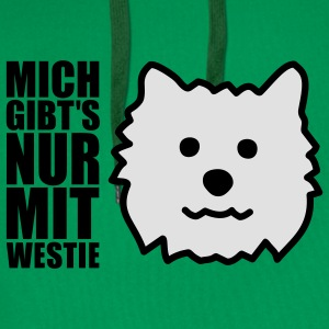 West Highland White Terrier T-Shirts - Männer Premium Hoodie