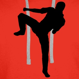 martial arts karate judo T-shirts - Sweat-shirt à capuche Premium pour hommes