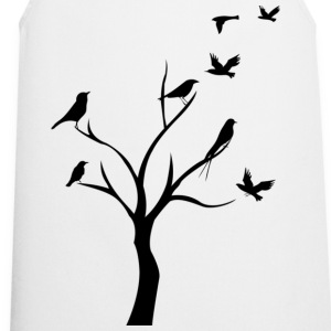birds in tree T-Shirts - Cooking Apron