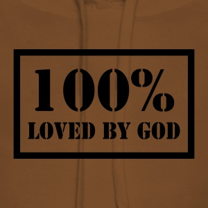 100% loved by God T-Shirts - Frauen Premium Hoodie