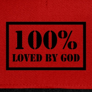 100% loved by God T-Shirts - Snapback Cap