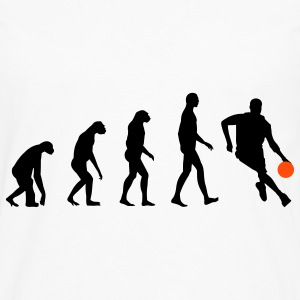 Evolution Basketball Camisetas - Camiseta de manga larga premium hombre