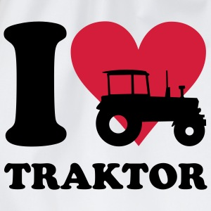 I love Traktor T-Shirts - Turnbeutel
