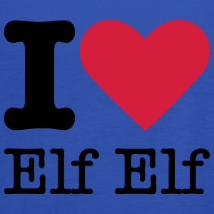 I Love Elf Elf T-shirts - Vrouwen tank top van Bella