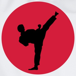 Martial Arts, Kick T-shirts - Gymnastikpåse