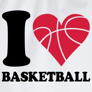 I love Basketball T-Shirts - Turnbeutel