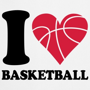 I love Basketball T-Shirts - Kochschürze