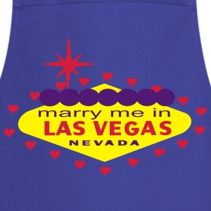 MARRY ME IN LAS VEGAS T-SHIRT - Cooking Apron