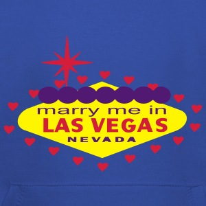 MARRY ME IN LAS VEGAS T-SHIRT - Kids' Premium Hoodie