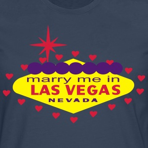 MARRY ME IN LAS VEGAS T-SHIRT - Men's Premium Longsleeve Shirt