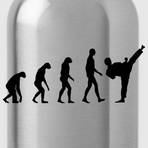 Evolution Fight  T-Shirts - Trinkflasche