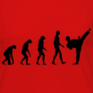 Evolution Fight  T-Shirts - Frauen Premium Langarmshirt