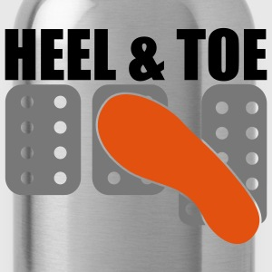 Heel & Toe T-Shirts - Water Bottle