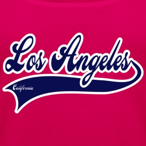 los angeles california T-shirts - Vrouwen Premium tank top