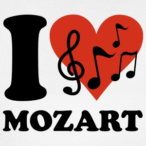 I love Mozart T-Shirts - Baseball Cap