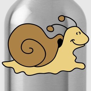 Small brown snail T-Shirts - Water Bottle