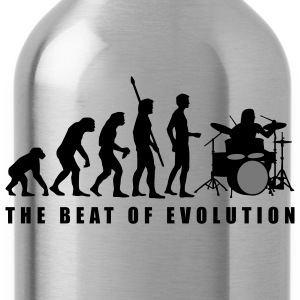 evolution_drummer_c_2c Magliette - Borraccia