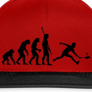 evolution_badminton_022011_a_1c T-Shirts - Snapback Cap