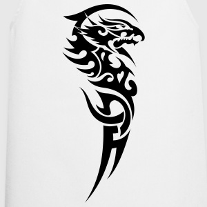 tribal dragon Camisetas - Delantal de cocina