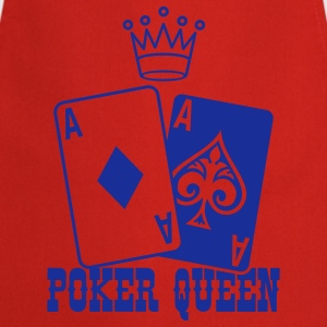 Poker Queen Camisetas - Delantal de cocina