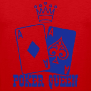 Poker Queen Camisetas - Tank top premium hombre