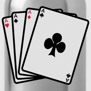 poker cards T-shirts - Drinkfles