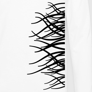 'Autumn Trees' Men's Big & Tall Shirt, white - Men's Premium Longsleeve Shirt
