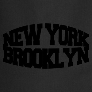 Svart new york brooklyn T-skjorter - Kokkeforkle
